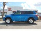 2008 Blue Streak Metallic Toyota Highlander 4WD #18915431