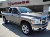 2007 Mineral Gray Metallic Dodge Ram 1500 Big Horn Edition Quad Cab 4x4 #18918593