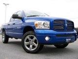 2007 Electric Blue Pearl Dodge Ram 1500 Sport Quad Cab 4x4 #18904283