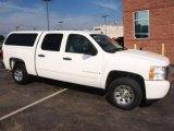 2008 Summit White Chevrolet Silverado 1500 LS Crew Cab #18968246