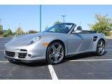 2008 GT Silver Metallic Porsche 911 Turbo Cabriolet #18048865