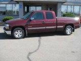2002 Dark Carmine Red Metallic Chevrolet Silverado 1500 LT Extended Cab #19005940