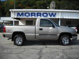 2003 Light Pewter Metallic Chevrolet Silverado 1500 Regular Cab 4x4 #19000242
