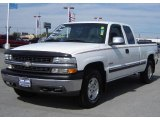 2001 Summit White Chevrolet Silverado 1500 LS Extended Cab 4x4 #19000457