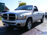 2006 Bright White Dodge Ram 1500 SLT Regular Cab #18993249