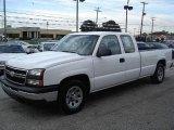 2006 Summit White Chevrolet Silverado 1500 Work Truck Extended Cab #19007202