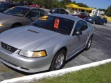 2000 Silver Metallic Ford Mustang GT Coupe #19010734