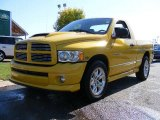 2005 Solar Yellow Dodge Ram 1500 SLT Rumble Bee Regular Cab #18993255