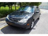 2005 Pitch Black Ford Focus ZX3 S Coupe #19003648