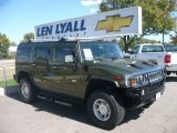 2003 Sage Green Metallic Hummer H2 SUV #19000401