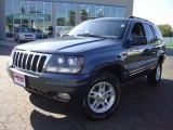 2002 Steel Blue Pearlcoat Jeep Grand Cherokee Laredo 4x4 #18999735