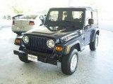 2006 Midnight Blue Pearl Jeep Wrangler X 4x4 #19012714
