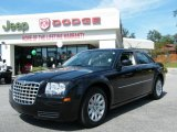 2008 Brilliant Black Crystal Pearl Chrysler 300 LX #19000419
