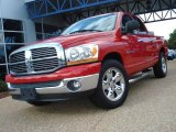 2006 Flame Red Dodge Ram 1500 SLT Quad Cab #18998372