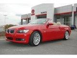 2007 Crimson Red BMW 3 Series 328i Convertible #19079845