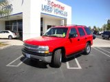 Victory Red Chevrolet Tahoe in 2004