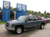 2007 Blue Granite Metallic Chevrolet Silverado 1500 Z71 Extended Cab 4x4 #19072430