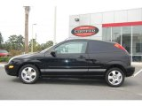 2005 Pitch Black Ford Focus ZX3 SES Coupe #19079871