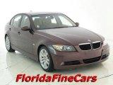 2007 Barrique Red Metallic BMW 3 Series 328i Sedan #19072747