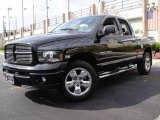 2004 Black Dodge Ram 1500 Laramie Quad Cab 4x4 #19082506