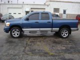 2006 Atlantic Blue Pearl Dodge Ram 1500 Laramie Quad Cab 4x4 #19086813