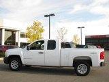 2008 Summit White Chevrolet Silverado 1500 Work Truck Extended Cab 4x4 #19157923