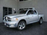 2009 Bright Silver Metallic Dodge Ram 1500 Big Horn Edition Crew Cab #19143398