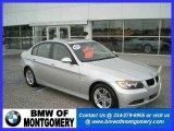 2008 Titanium Silver Metallic BMW 3 Series 328i Sedan #19153628