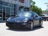 2008 Black Porsche 911 Carrera 4S Coupe #185189