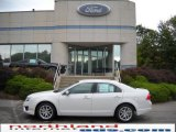2010 White Suede Ford Fusion SEL #19182836