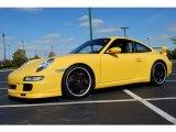 2007 Speed Yellow Porsche 911 Carrera S Coupe #18948497