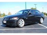 2007 Black Sapphire Metallic BMW 3 Series 335i Sedan #19204310