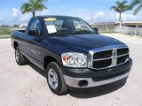 2007 Patriot Blue Pearl Dodge Ram 1500 SXT Regular Cab #19204864