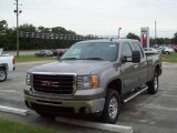 2007 Steel Gray Metallic GMC Sierra 2500HD SLT Crew Cab 4x4 #19219053