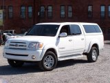 2005 Natural White Toyota Tundra Limited Double Cab 4x4 #19215235