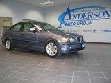 2003 Steel Blue Metallic BMW 3 Series 325i Sedan #19223586
