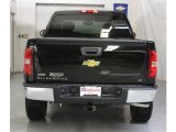2009 Black Granite Metallic Chevrolet Silverado 1500 LT Crew Cab 4x4 #19222361