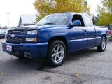 2003 Arrival Blue Metallic Chevrolet Silverado 1500 SS Extended Cab AWD #19264244