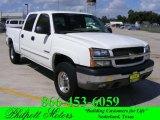 2003 Summit White Chevrolet Silverado 1500 LS Crew Cab 4x4 #19275671