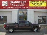 2008 Dark Cherry Metallic Chevrolet Silverado 1500 LT Extended Cab 4x4 #19271479