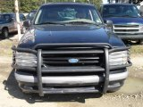 Black Ford Explorer in 1997