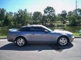2006 Tungsten Grey Metallic Ford Mustang GT Premium Convertible #19277465