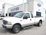 2004 Oxford White Ford F250 Super Duty XLT SuperCab 4x4 #19274709