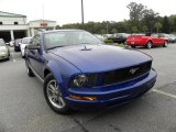 2005 Sonic Blue Metallic Ford Mustang V6 Premium Coupe #19276302