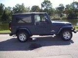 2006 Midnight Blue Pearl Jeep Wrangler Unlimited 4x4 #19277521