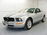 2007 Satin Silver Metallic Ford Mustang V6 Deluxe Coupe #19281981