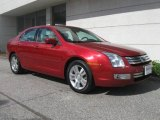 2008 Redfire Metallic Ford Fusion SEL V6 #19277037