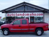 2002 Victory Red Chevrolet Silverado 1500 LT Extended Cab 4x4 #19365107