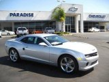 2010 Silver Ice Metallic Chevrolet Camaro SS/RS Coupe #19369371
