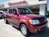 2005 Salsa Red Pearl Toyota Tundra Limited Double Cab 4x4 #19369348